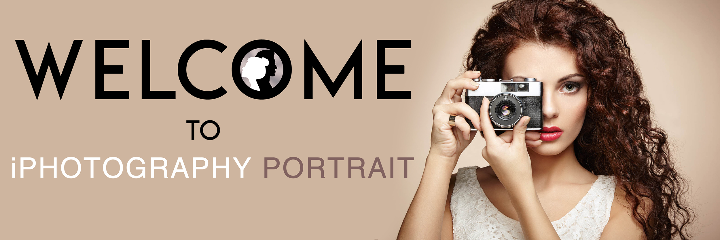 iphotography welcome to the portrait course banner