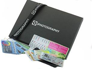 Flip cards in box